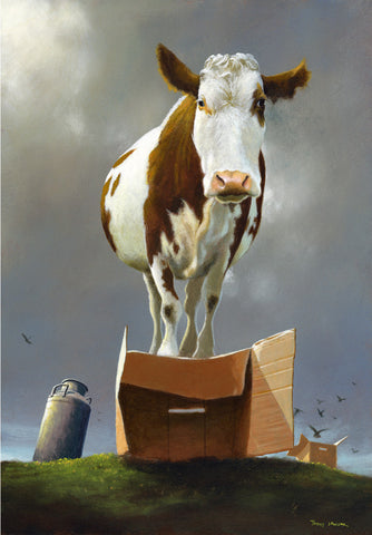 'Cow on the Box' ©