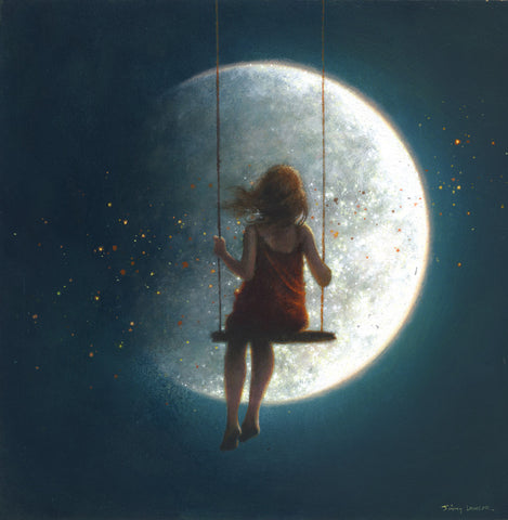'Fly me to the Moon' - SOLD