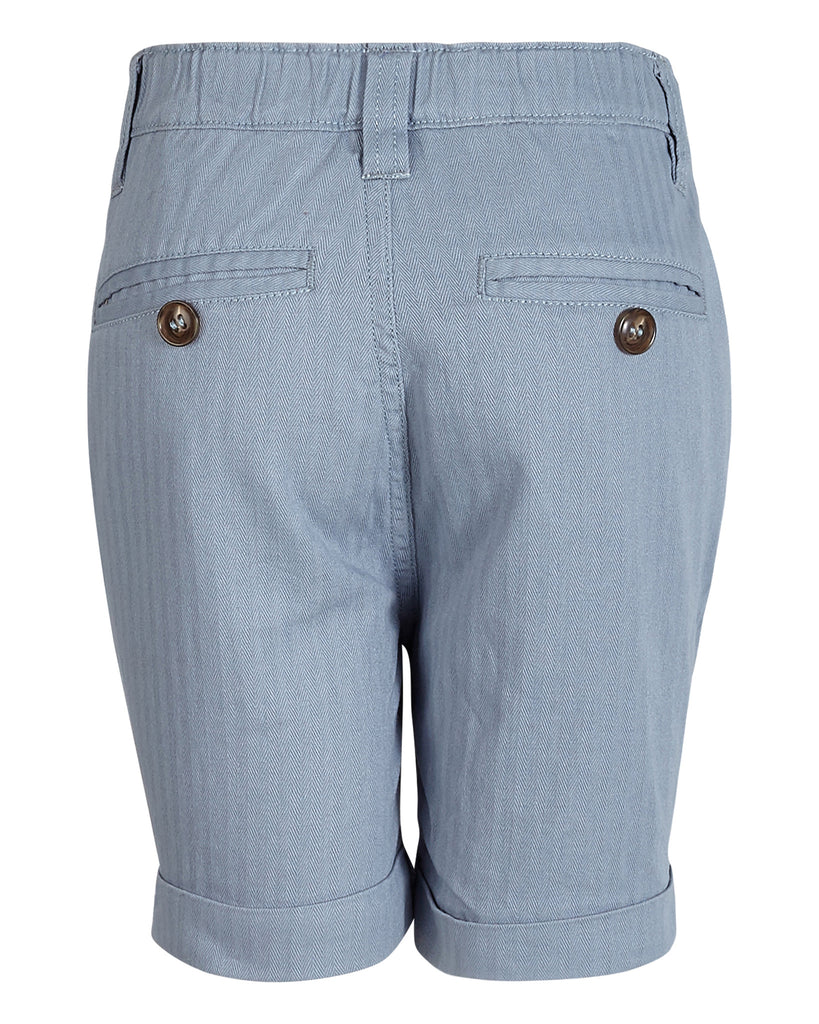 Boys Cornelis Shorts Herringbone Blue