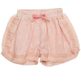 Girls Pale Pink Hella Shorts