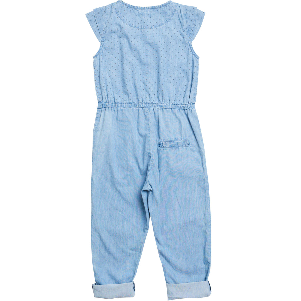 Girls Charlot Jumpsuit Celestial Blue