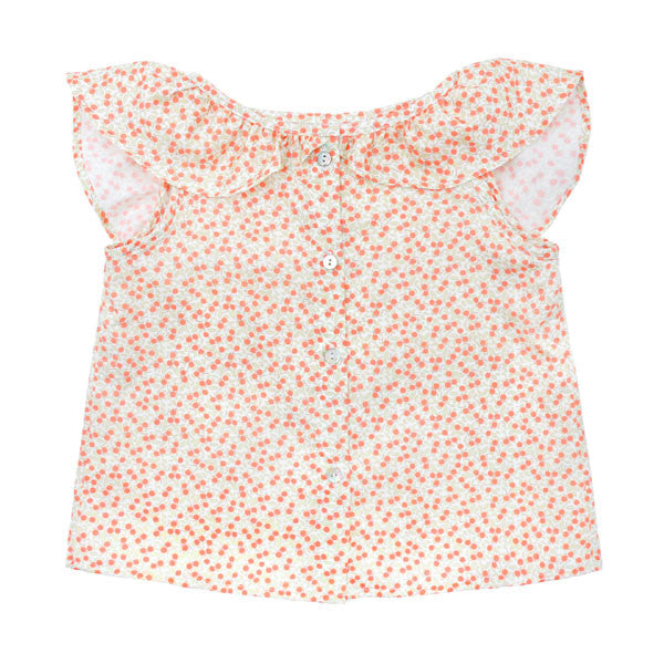 Baby Orange Tree Ladybird Blouse