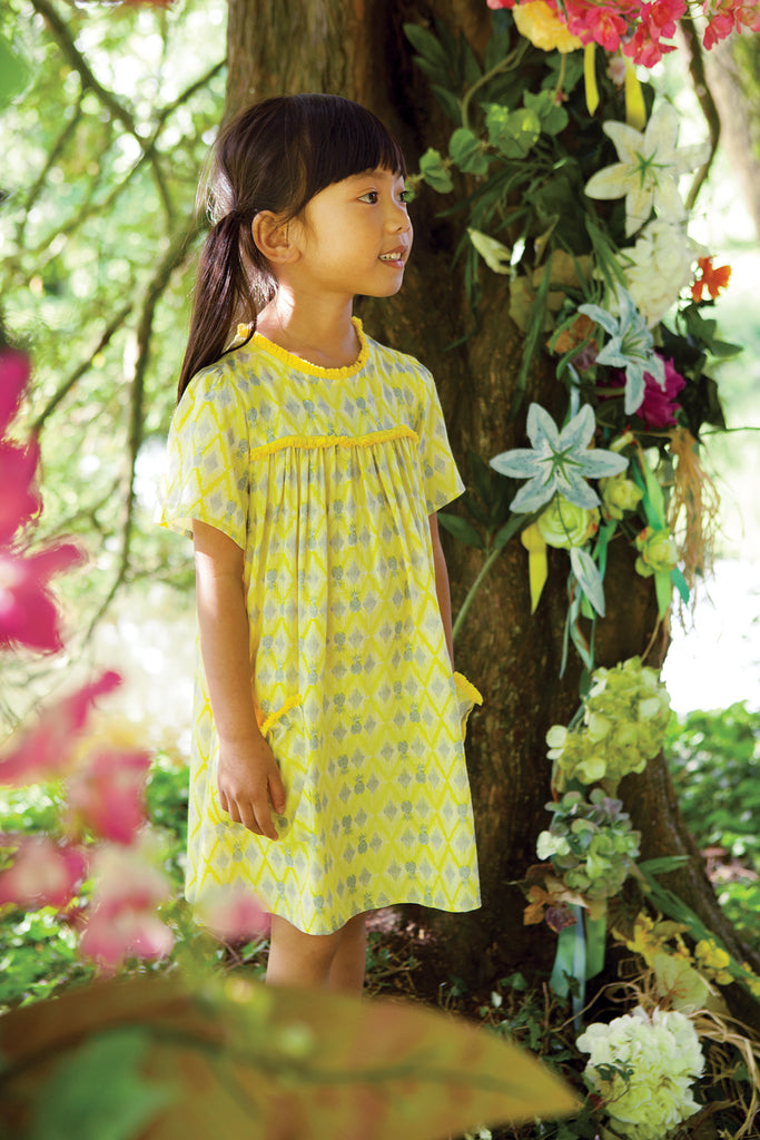 Girls Yellow Paradise Dress