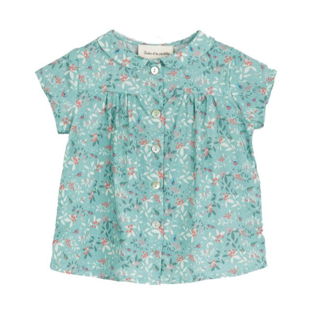 Baby Girl Sonja Bird Print Blouse