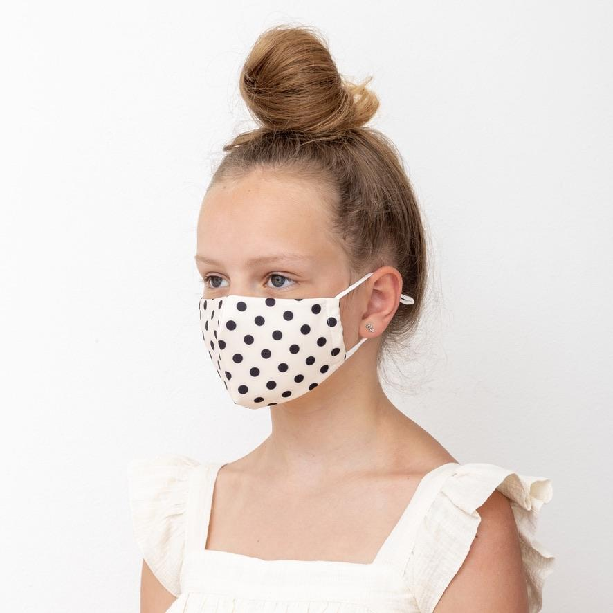 Child Polka Dot Mask