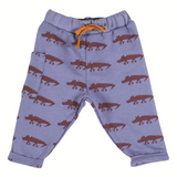 Baby Boys Nado Indigo Alligator Trousers