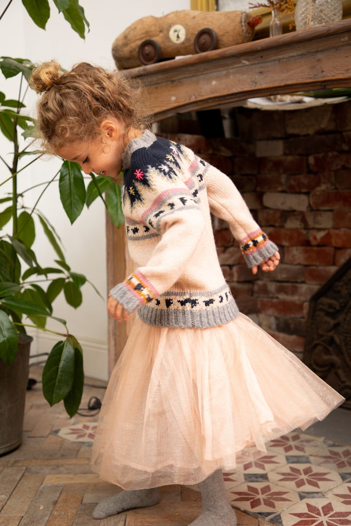Girls Jacquard Amboise Jumper