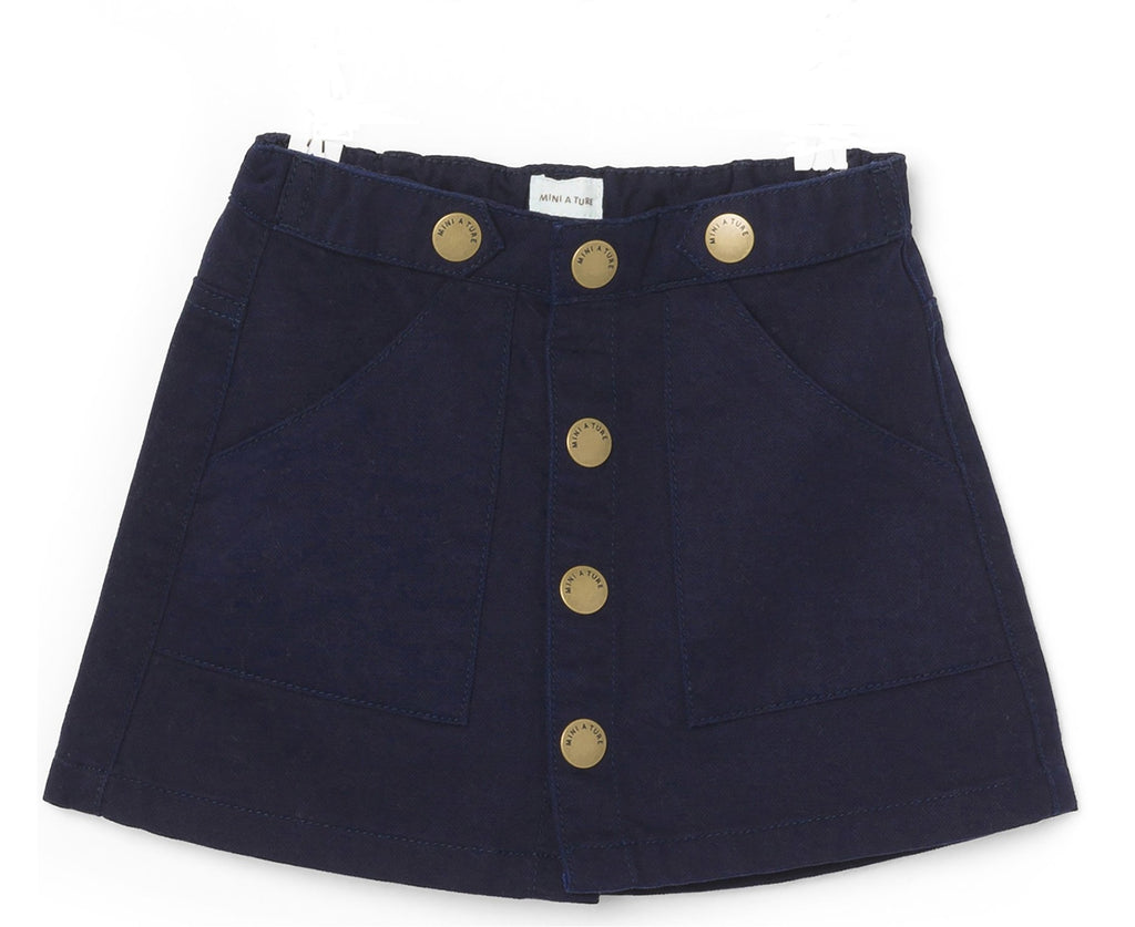 Girls Billie Sky Blue Skirt