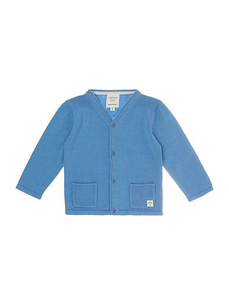 Baby Knitted Blue Cardigan