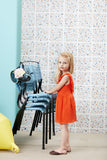 Girls Tangerine Floaty Dress