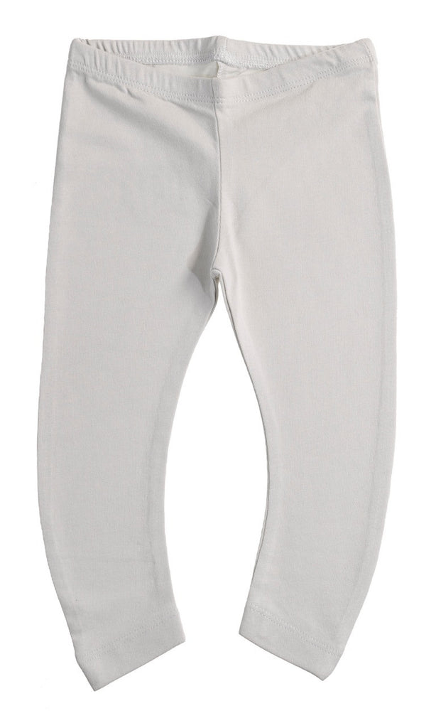 Boys and Girls Light Grey Leggings