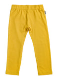 Girls Mustard Yellow Leggings