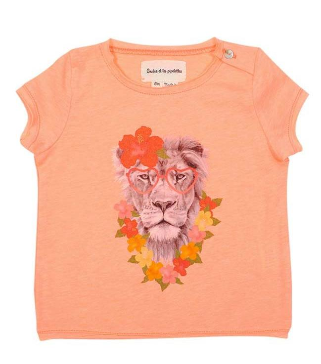 Baby T shirt Lioness