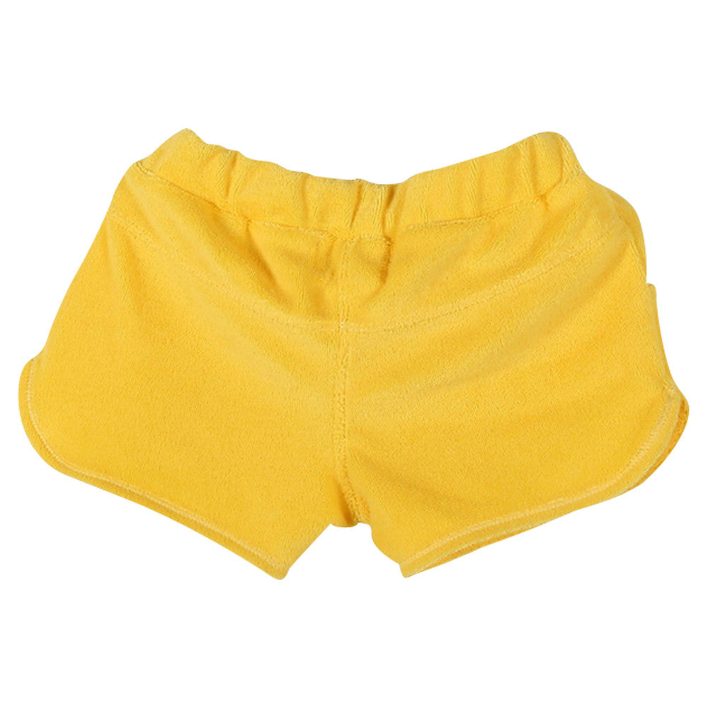 Girls Yellow Loulou Shorts