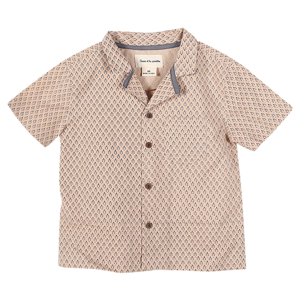 Boys Caviar Ethnic Print Shirt