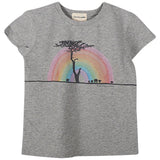 Boys Rainbow Safari T Shirt