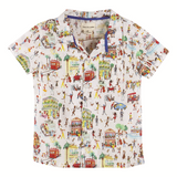 Baby Boy Natty Jazz Print Shirt