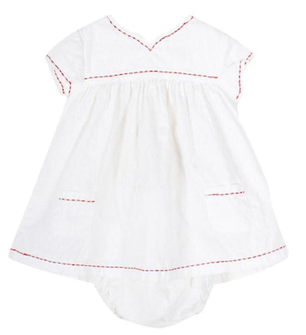 Baby Girl Pondine Fruit Print Dress & Bloomers