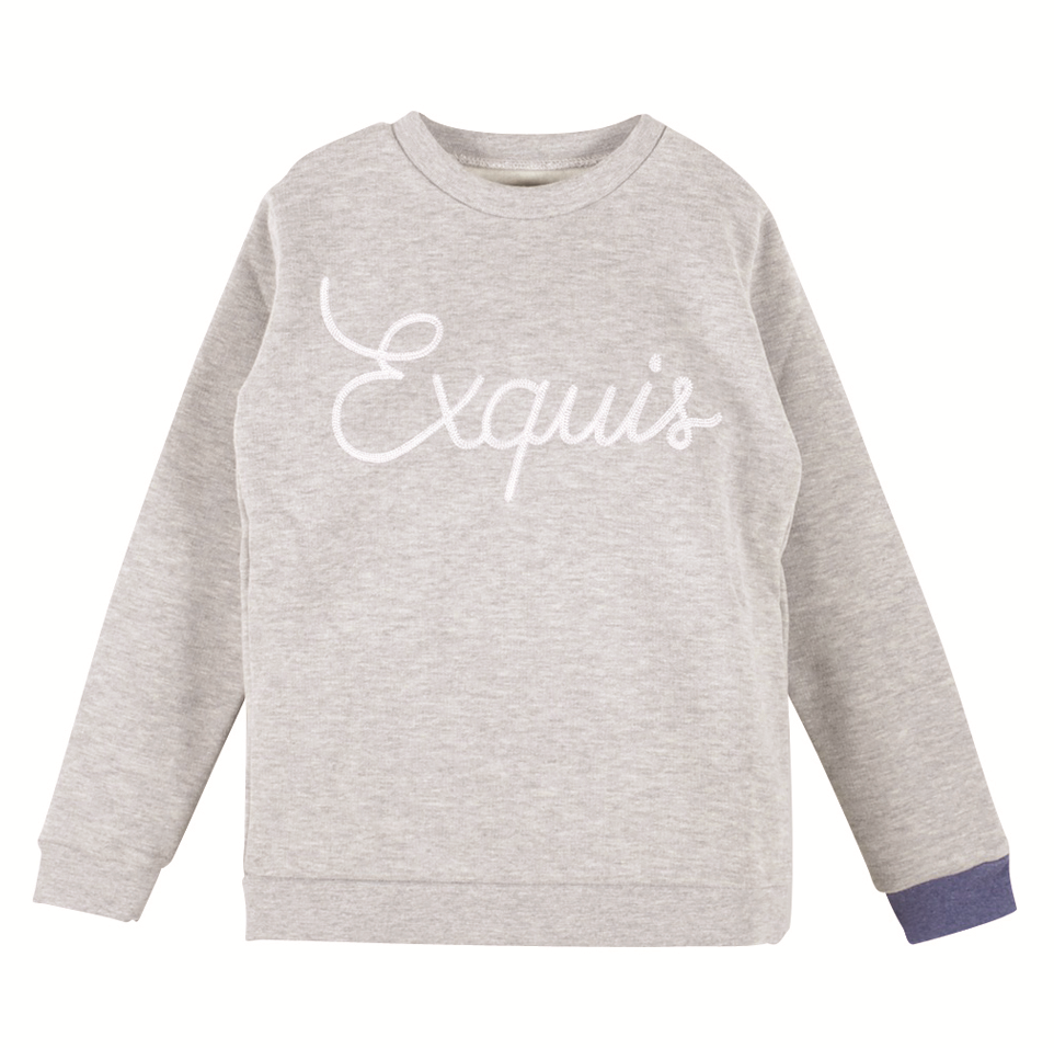"Boys Nesito Heather Grey ""Exquis"" Sweatshirt"
