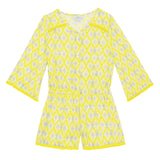 Girls Yellow Beau Playsuit