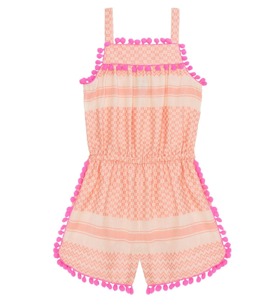 Girls Pink Tribe Playsuit