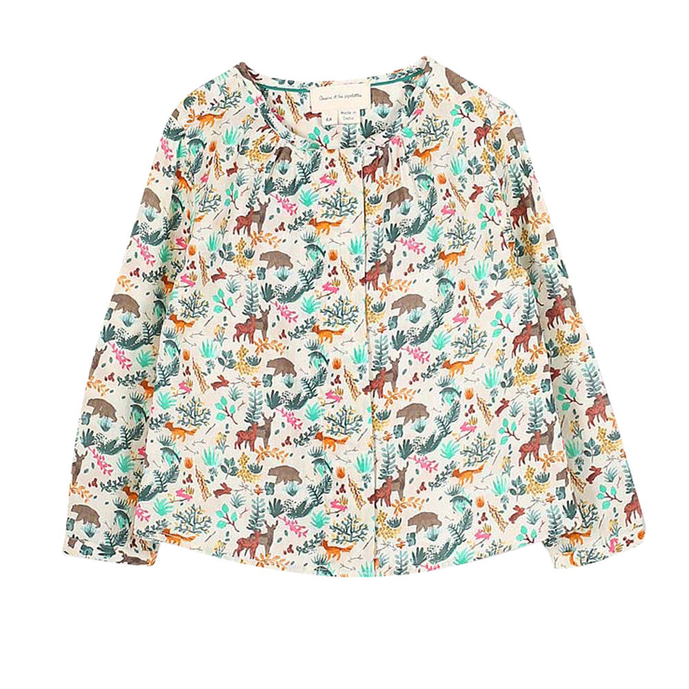 Girls Printed Juline Shirt