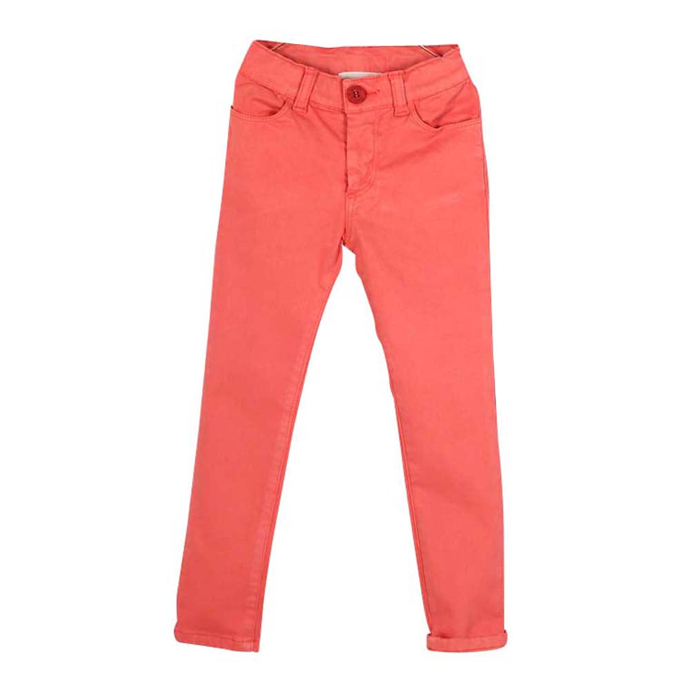 Boys and Girls Coral Jericho Skinny Chinos