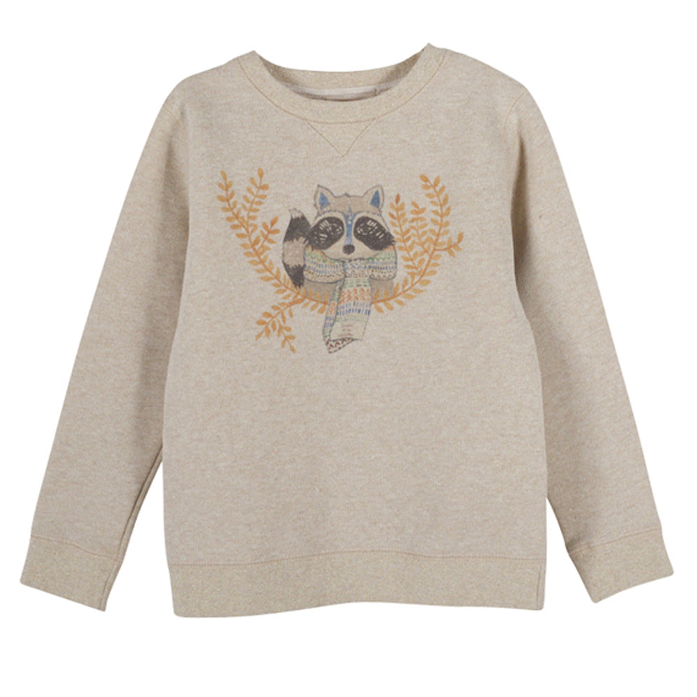 Girls Melyssandre Raccoon Sweatshirt