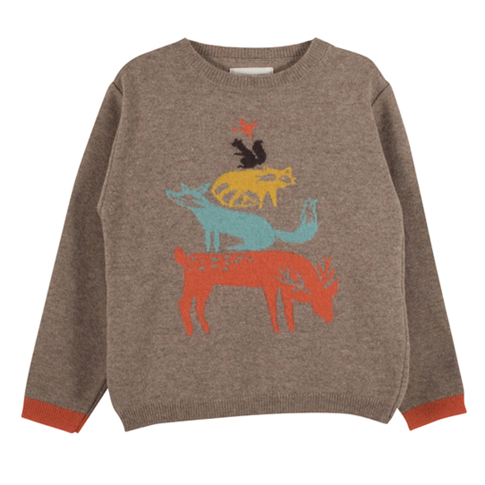 Boys & Girls Marley Taupe Jumper