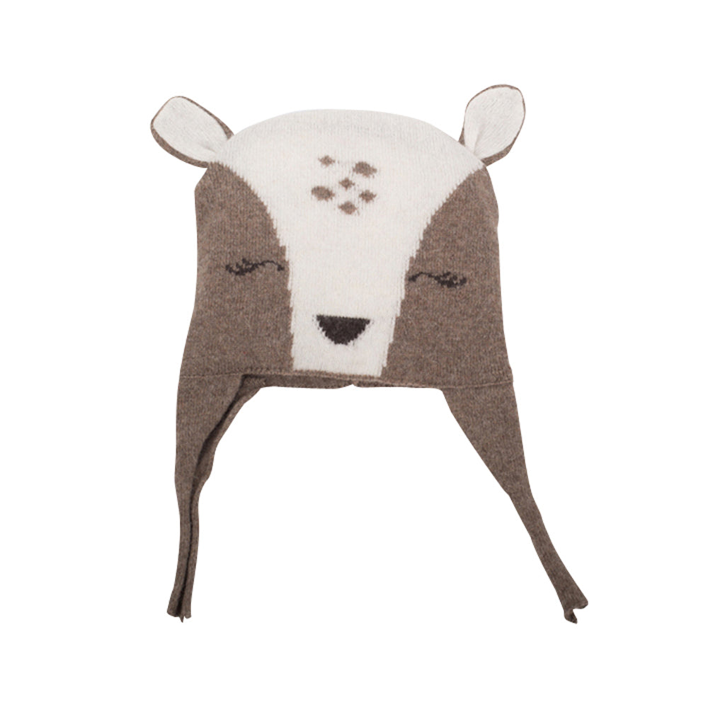 Boys & Girls Knitted Roos Hat
