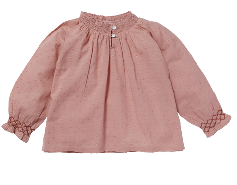 Girls Mahal Pink Blouse