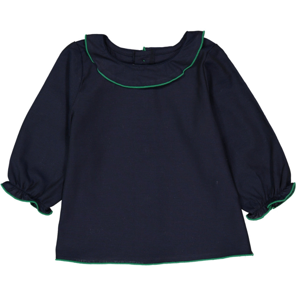 Girls Blouse Jeanne Navy