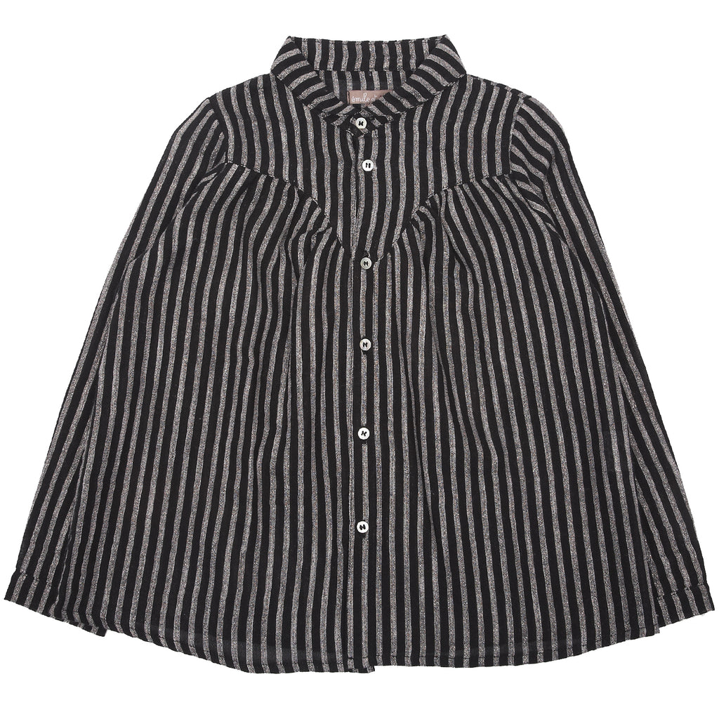Girls Lurex Stripy  Blouse