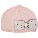 Girls Pink Bow Hat