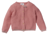 Girls Maddie Bubble Gum Cardigan
