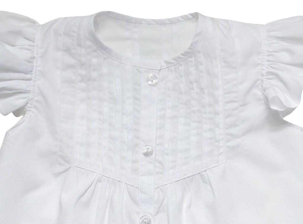 Baby Martha Blouse White
