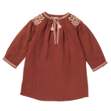 Girls Nais Terracotta Dress