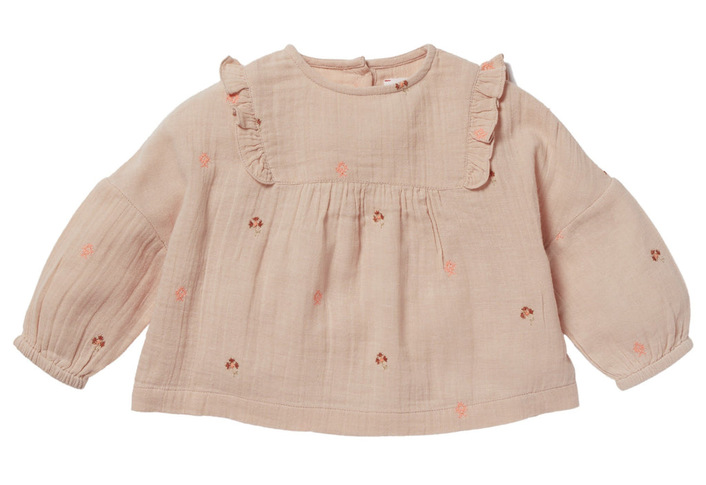 Girls Ophrys Pink Blouse