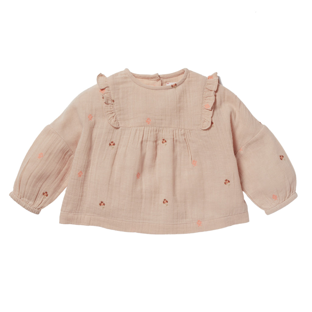 Baby Girl Ophrys Pink Blouse