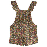 Girls Wilt Liberty Short Overalls