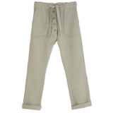 Boys Sage Double Gauze Trousers