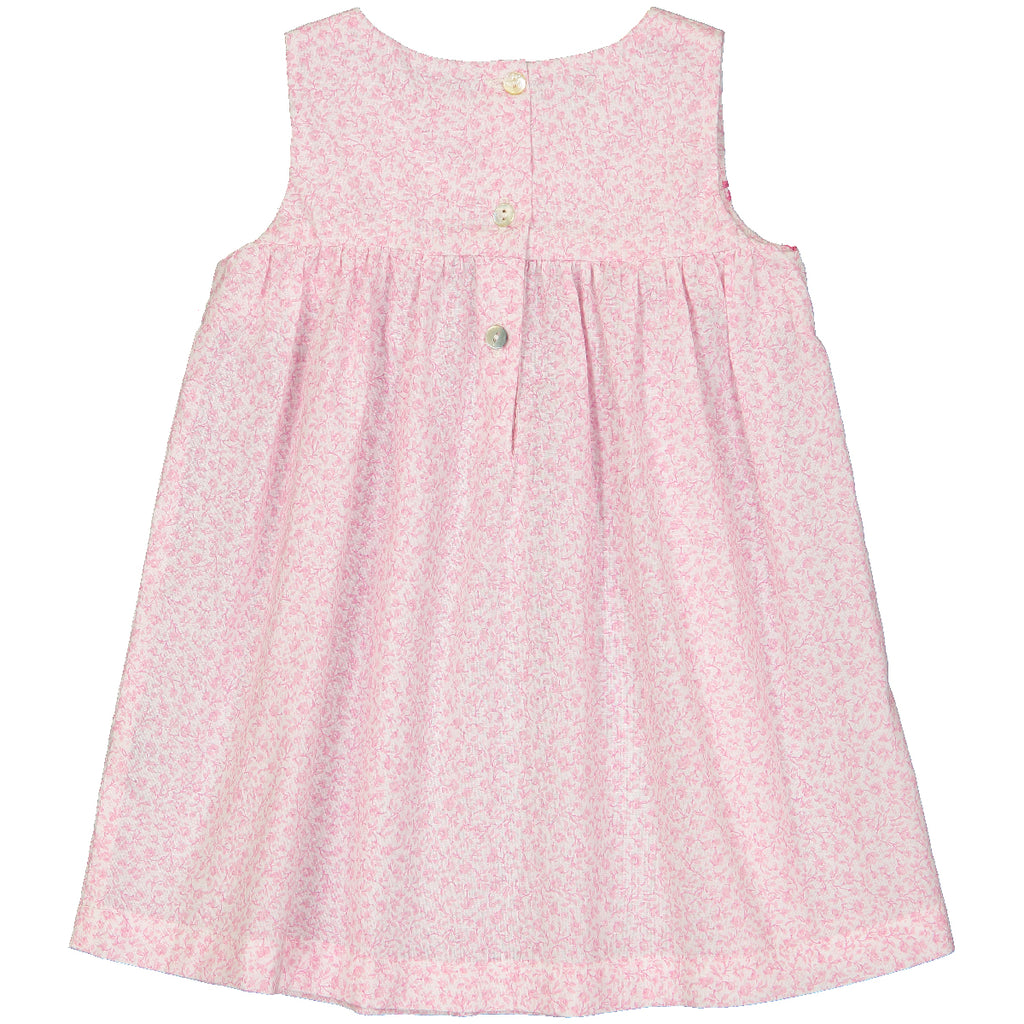 Baby Girl Suzie Pnk Bloom Print Dress