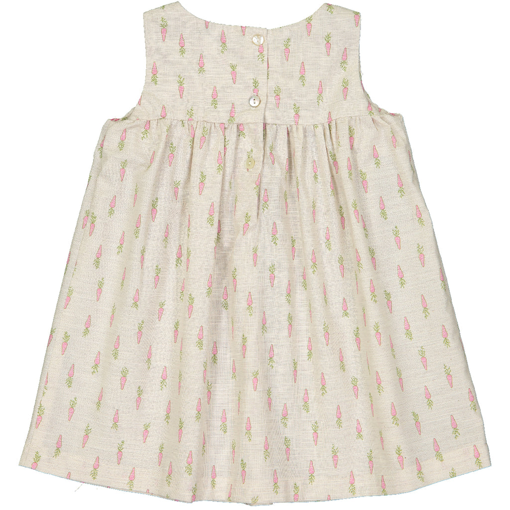 Baby Girl Suzie Carrot Print Dress