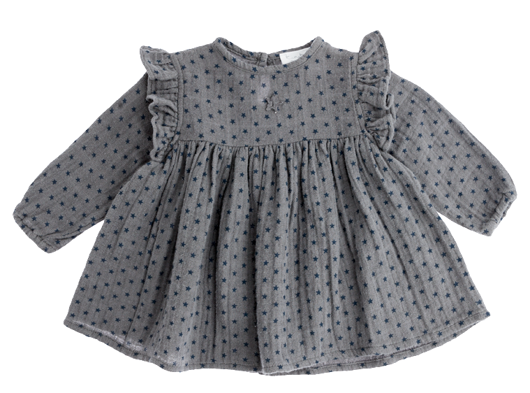Baby Girl Stars Printed Dress