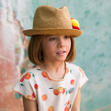 Girls Natille Clementine Fleece Dress