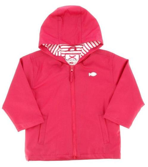 Girls Pink Hobby Raincoat