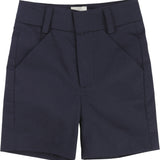 Boys Navy Bermuda Shorts