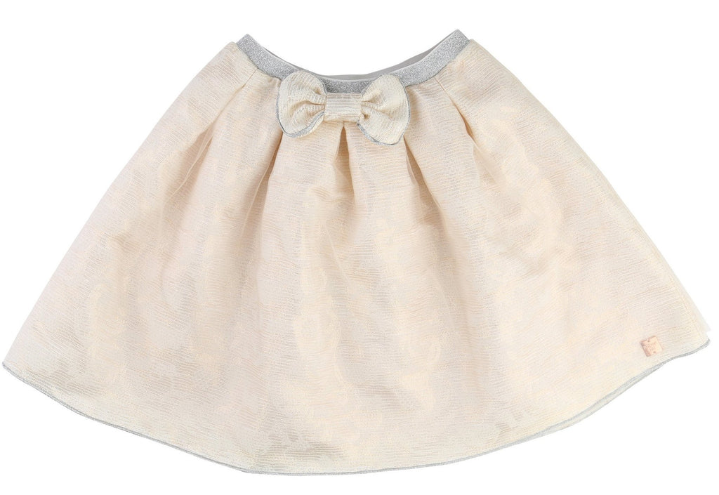 Girls Jacquard Skirt