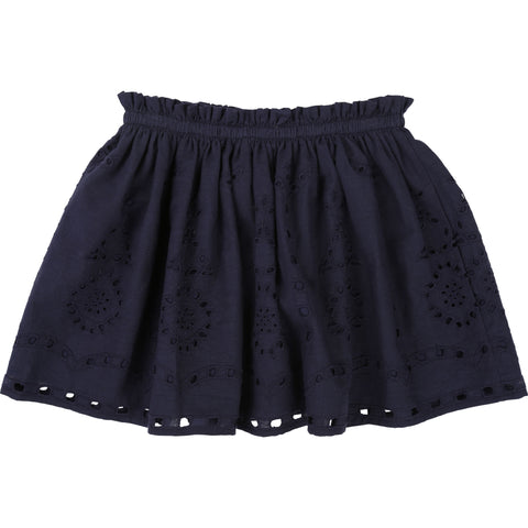 Girls Navy Shorts