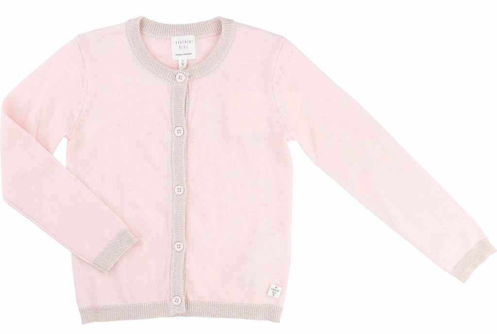 Girls Lurex Cardigan